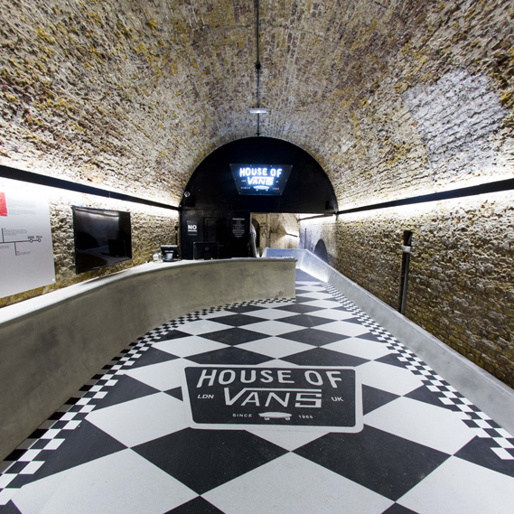 house of vans style indoor skatepark