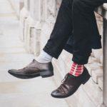 odd socks london blogger city