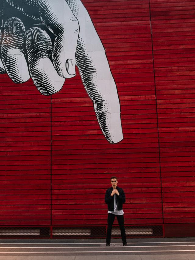 anton style division lookbook red street art