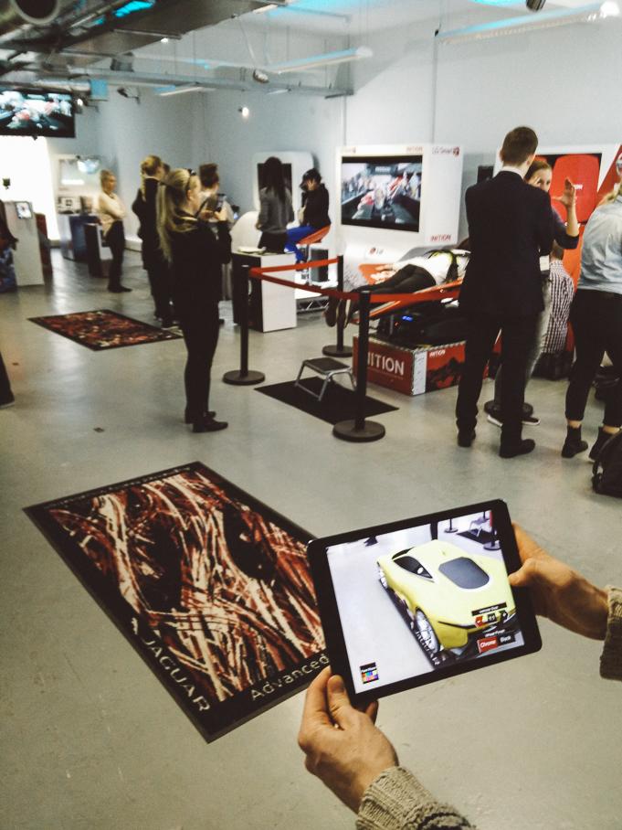 jaguar cars ar augmented reality demo