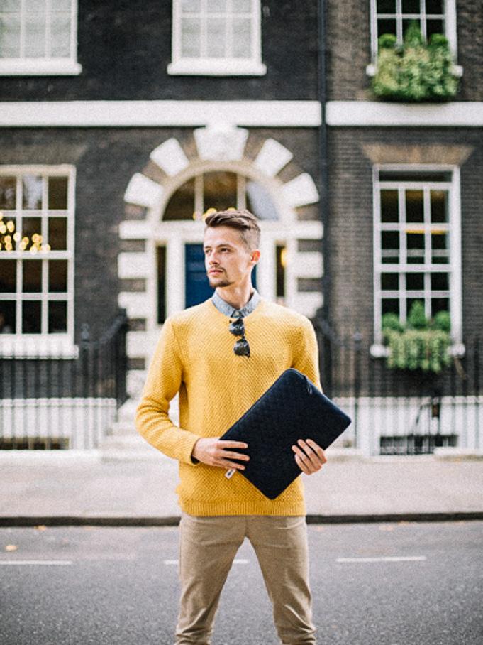 yellow topman jumper lookbook style