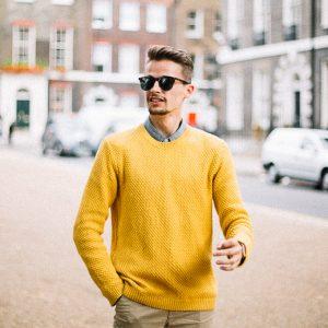 yellow topman jumper