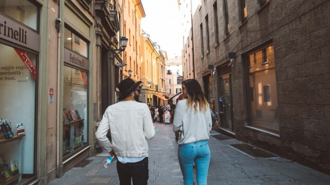 street style in italy fashion photography