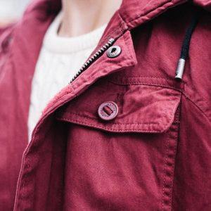asos coat vote red parka liverpool
