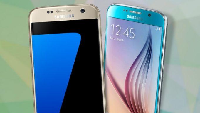 galaxy s7 smartphone 2016