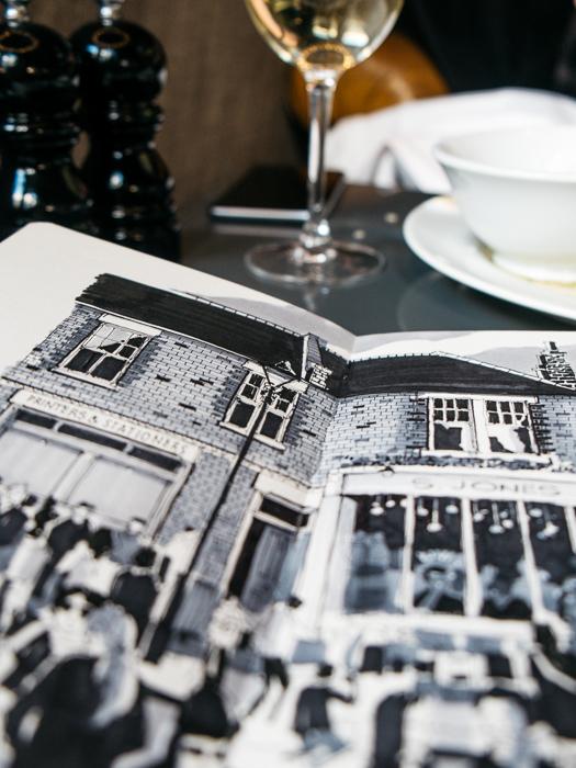 hoxton hotel shoreditch sketcher phil dean illustration-4