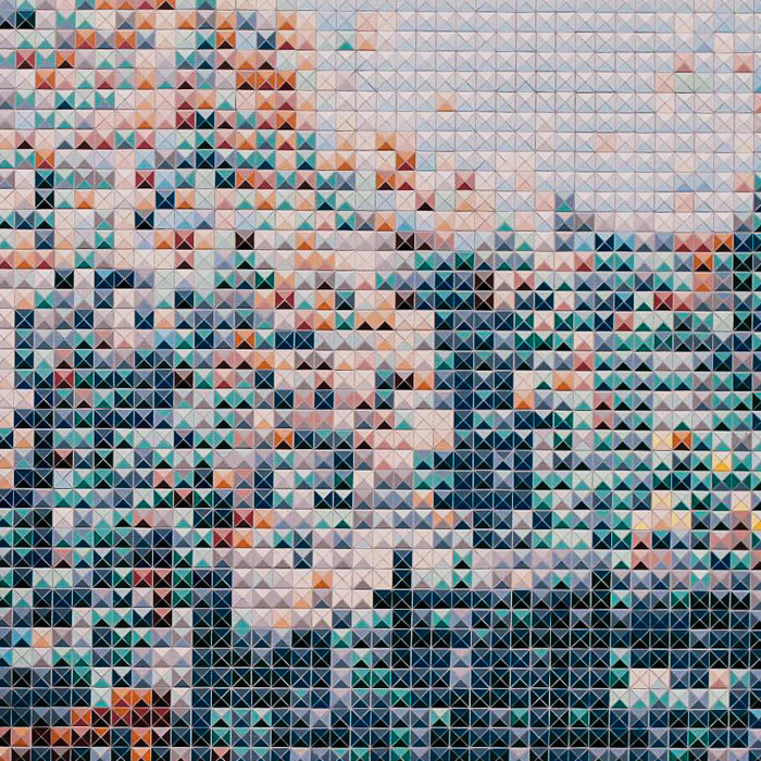 multicoloured tiles