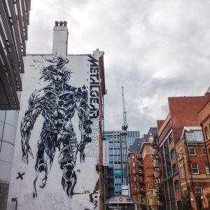 metal gear solid raiden artwork street art leeds