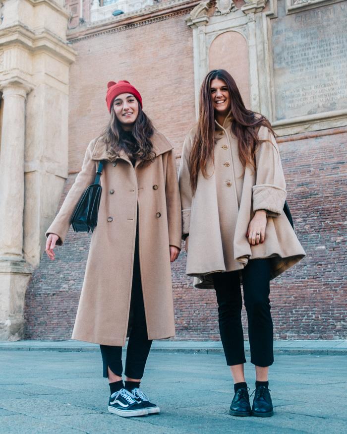 italian girls camel coats
