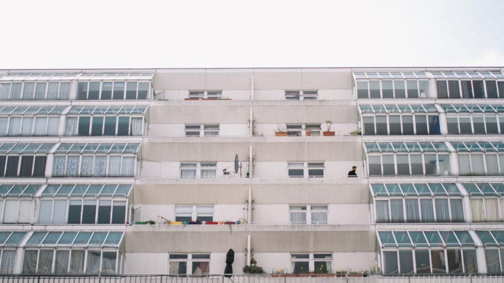 white bright architecture london