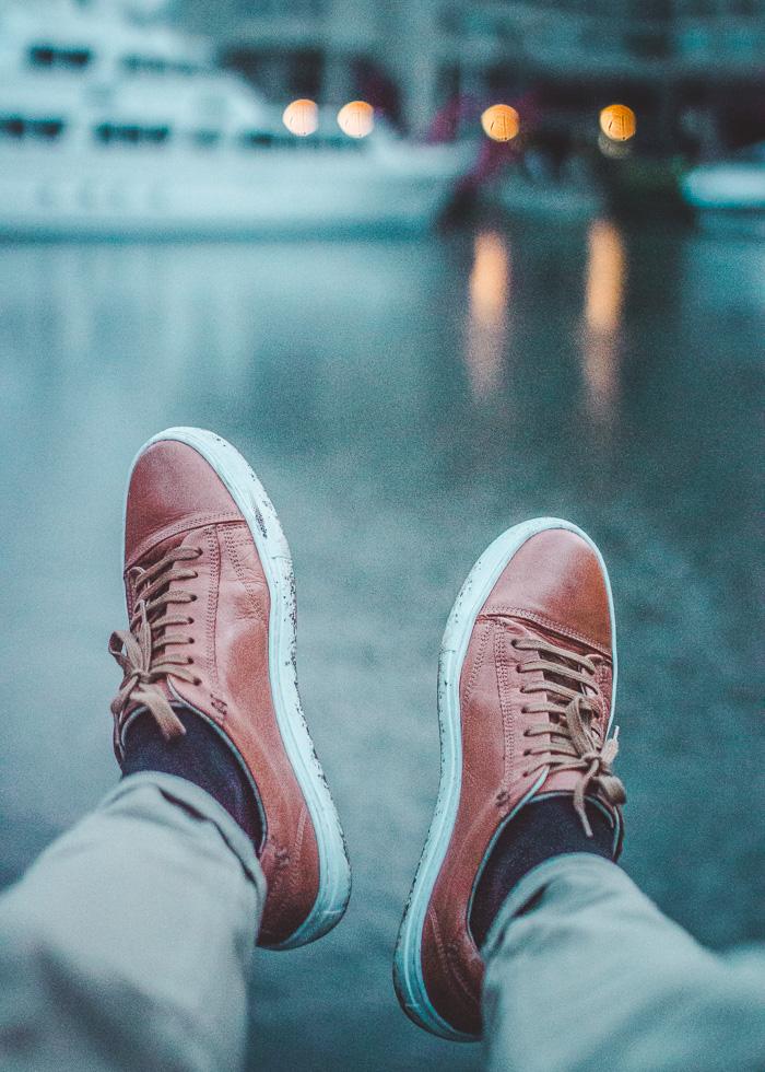 kurt geiger shoes men orange