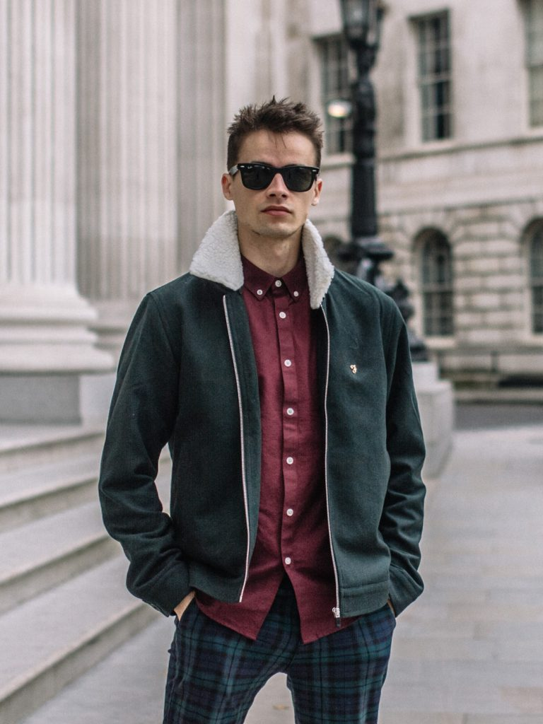 farah menswear lookbook london