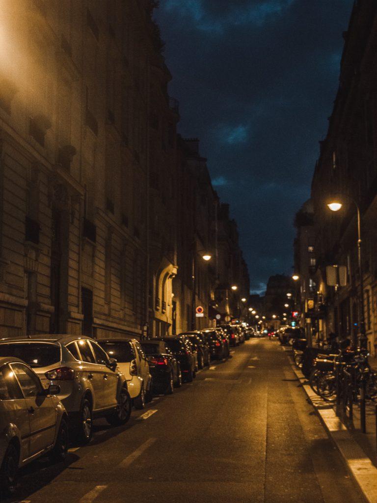 nuit in paris