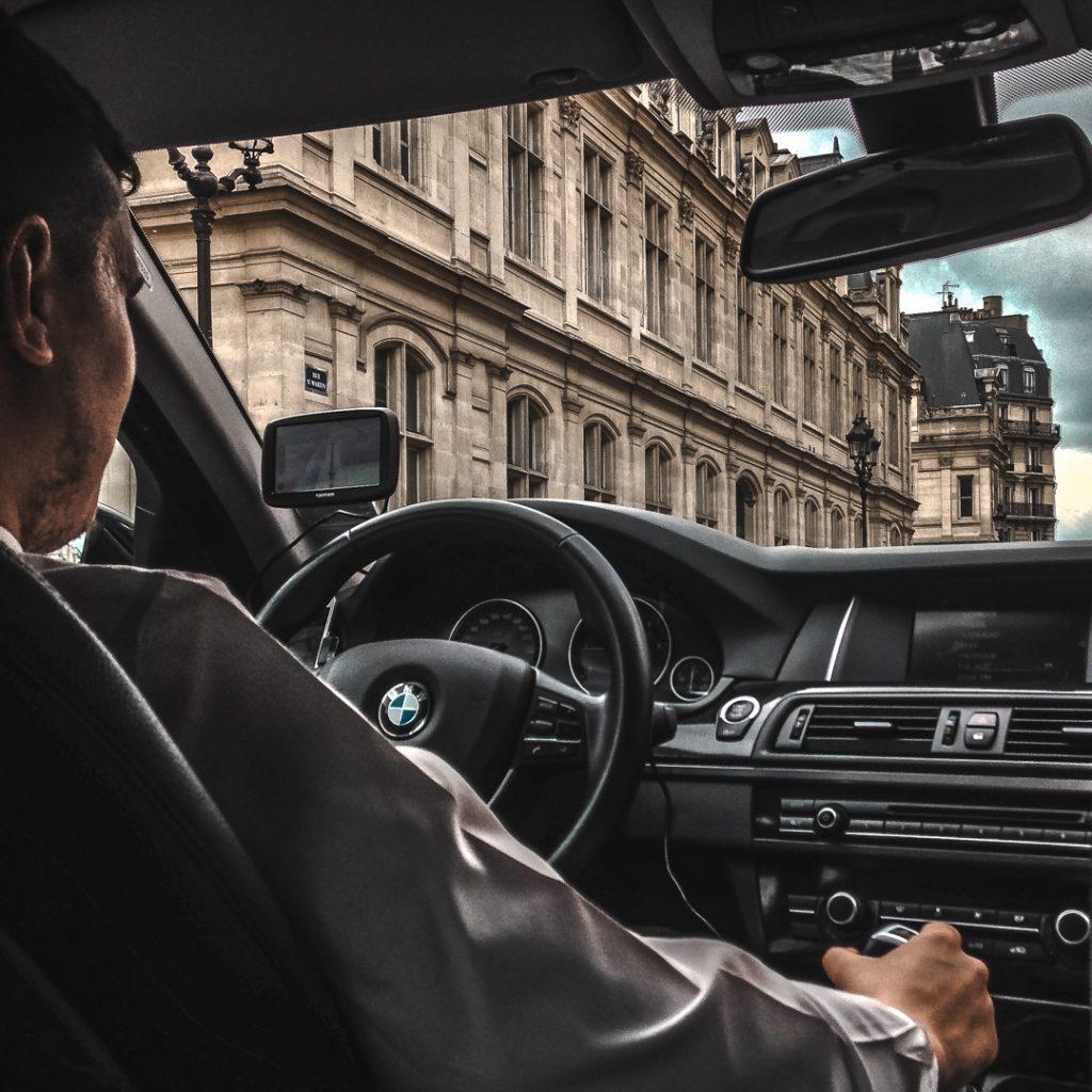 uber driver in paris
