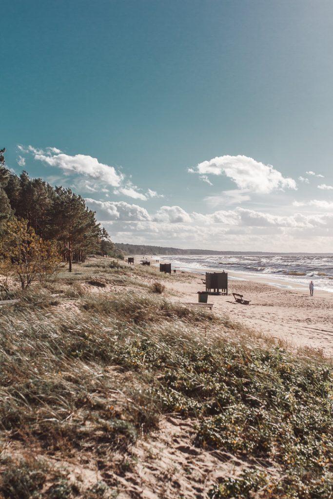 latvia saulkrasti beach