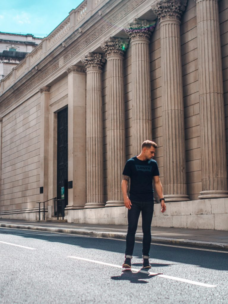 carl cunard blogger model