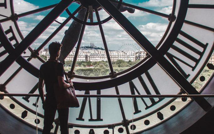 Musee dOrsay museum clocktower