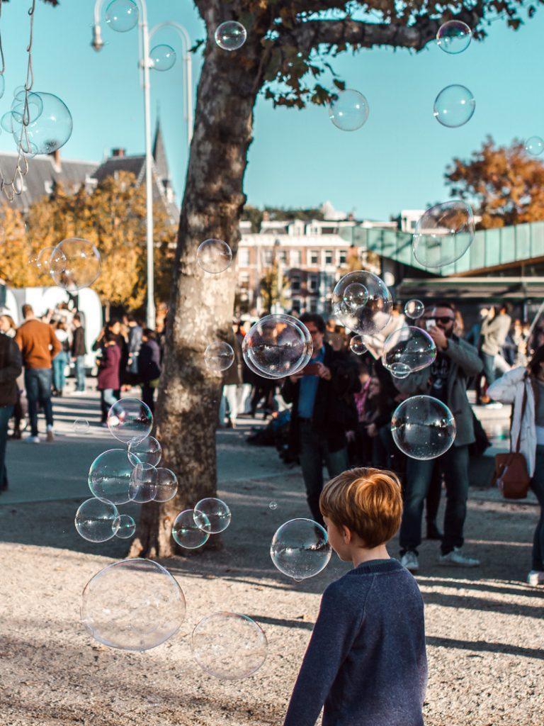 soap bubbles fun
