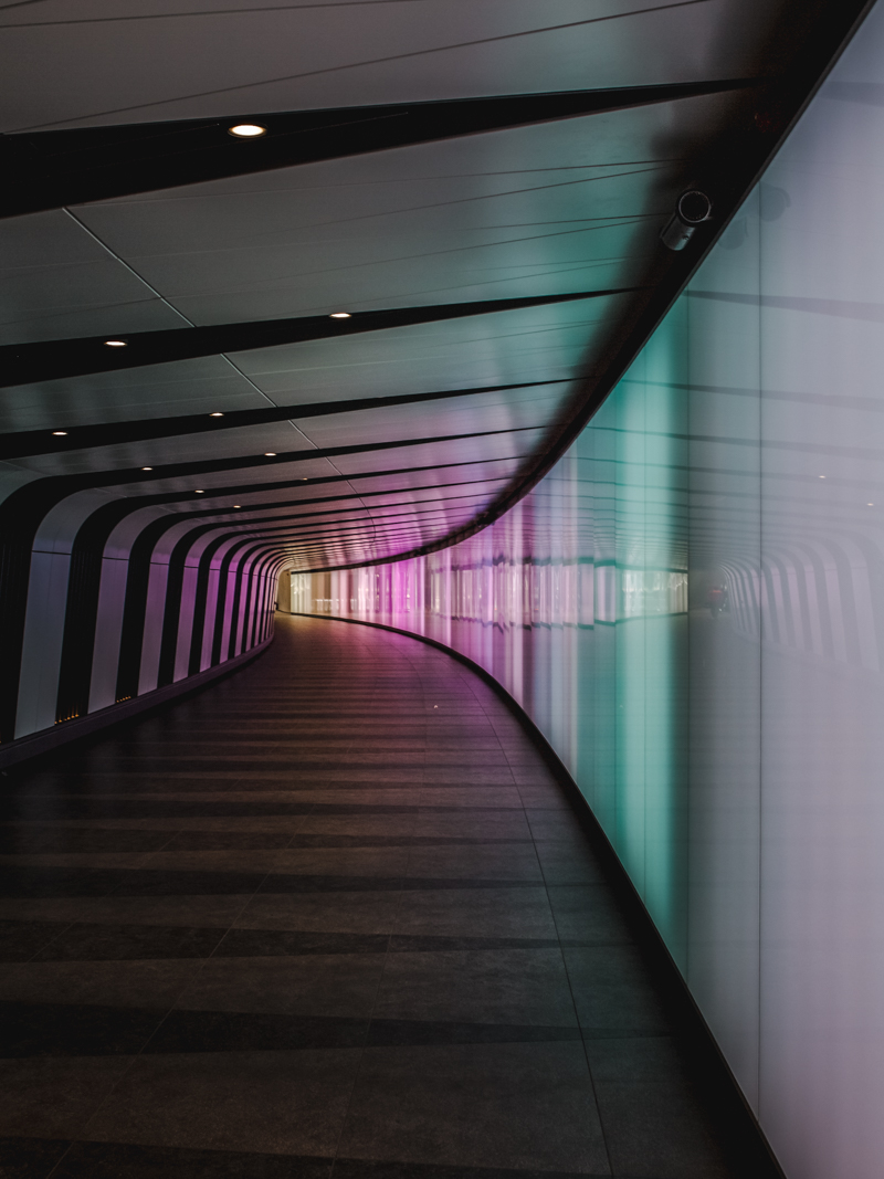 exploring london rainbow tunnel canon 5d dvsn-5