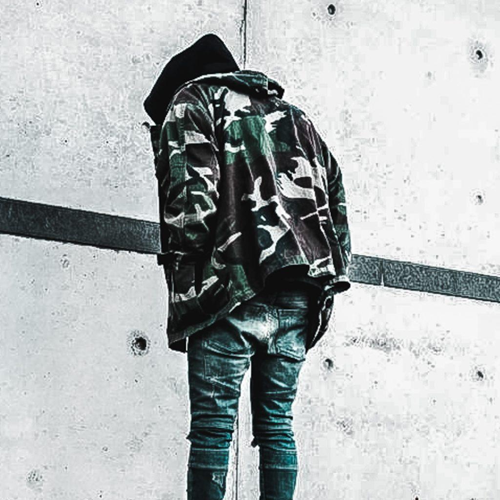 camouflage style lookbook ootd