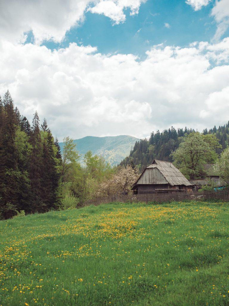 carpathian mountains ukraine i travel