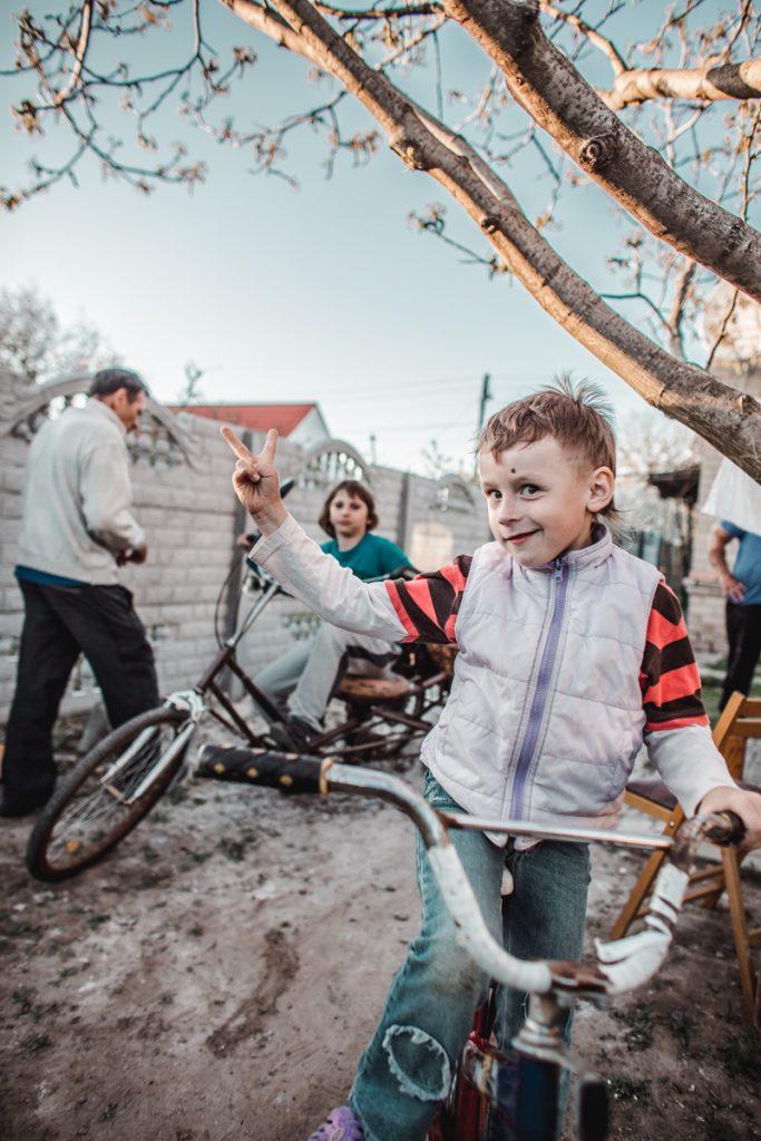 children photography bikes ukraine