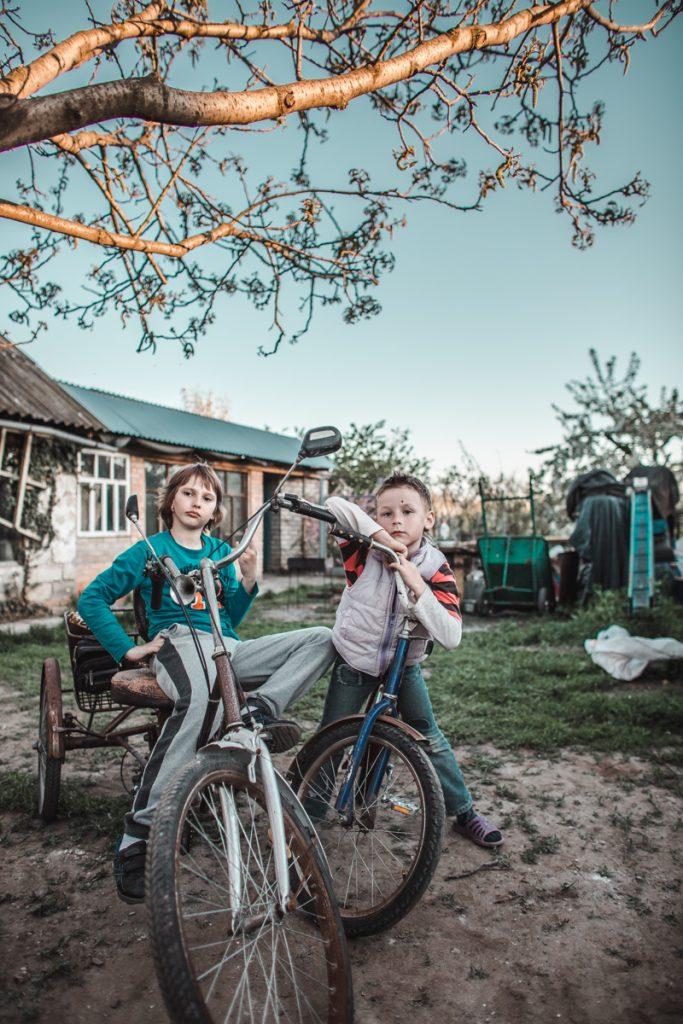 ukraine children bikes