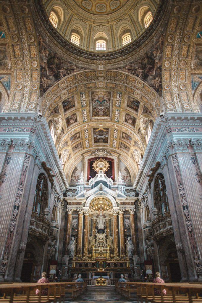 napoli naples church Gesù Nuovo