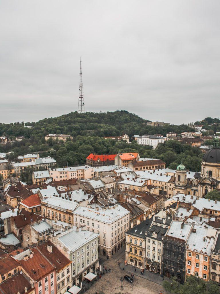 lviv town ukraine