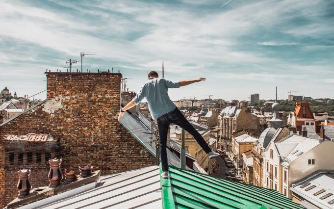 urban exploration ukraine roofing-18