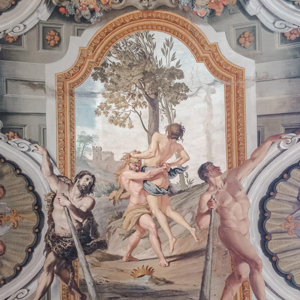 Palazzo Doria Pamphilj ceiling hercules