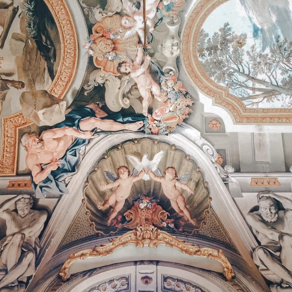 Palazzo Doria Pamphilj ceiling hercules 3