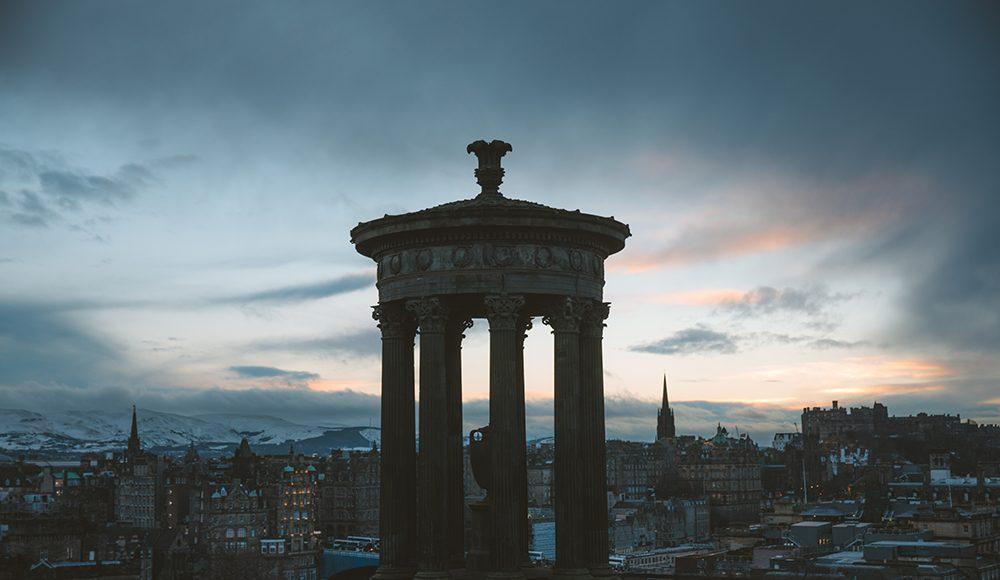 scotland edinburgh travel dvsn tesla