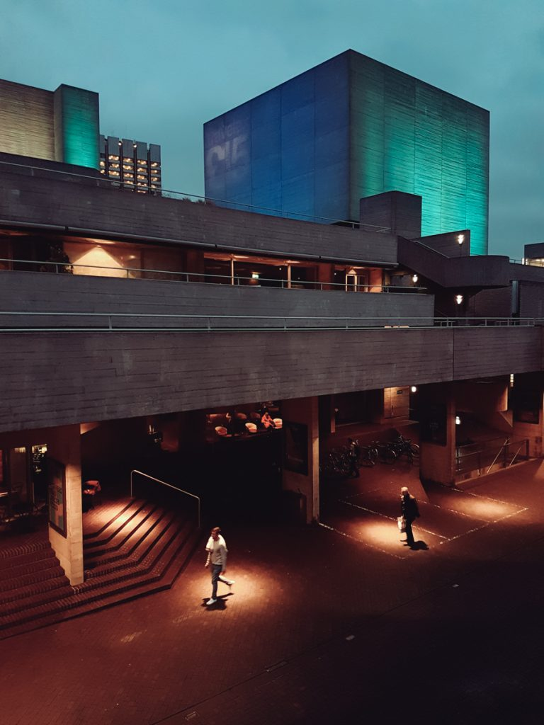 national theatre london southbank evening