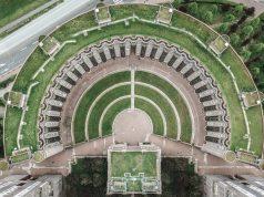 Les Espaces d'Abraxas estate drone