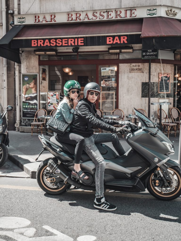 motorbike paris