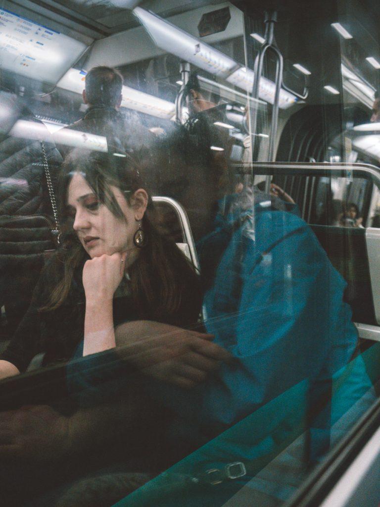 double exposure underground metro