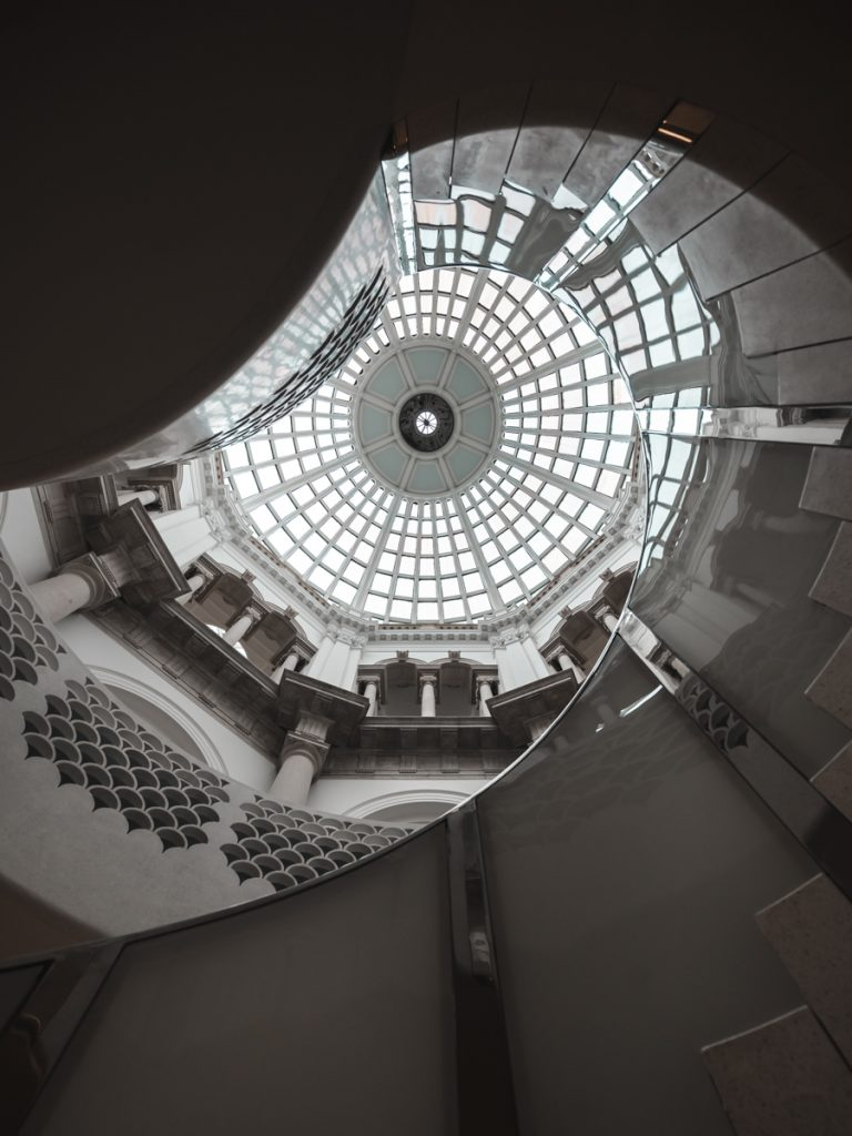 tate britain staircase architecture interior