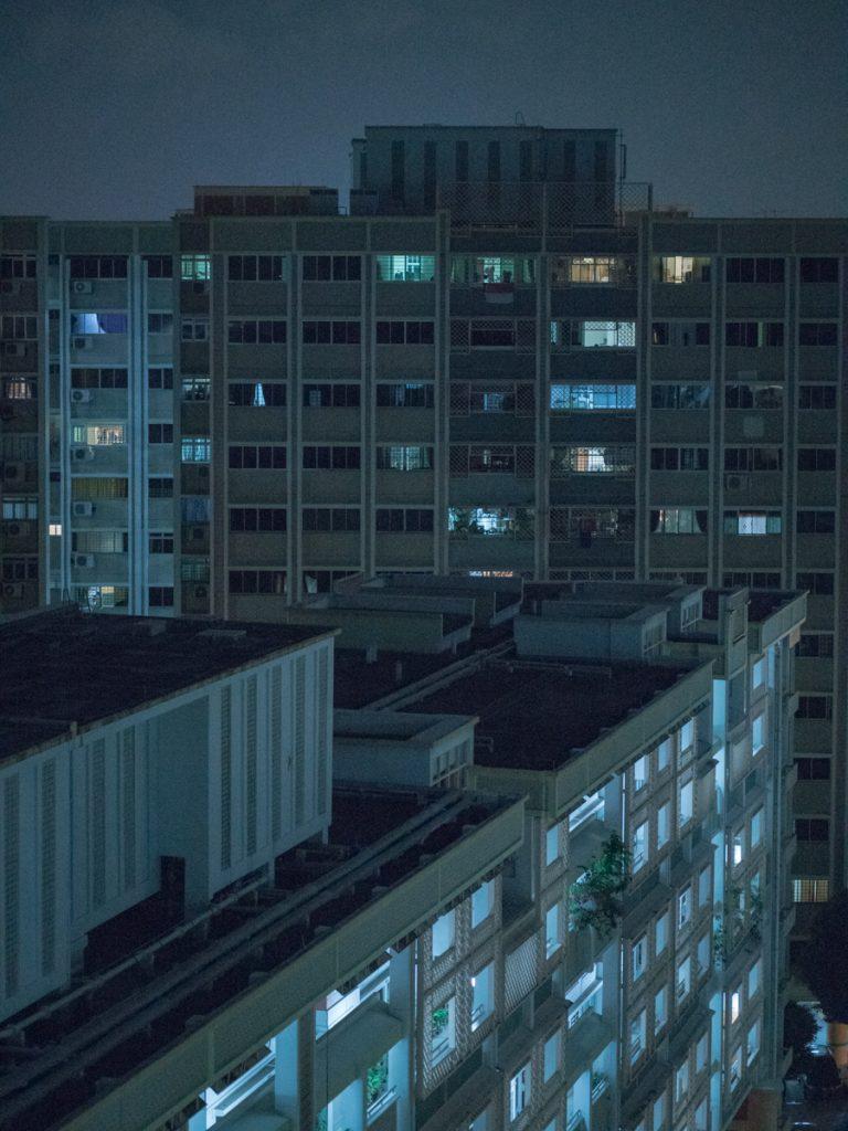 singapore rooftops at night blade runner