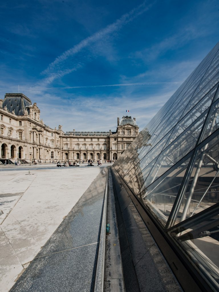 louvre photography architecture