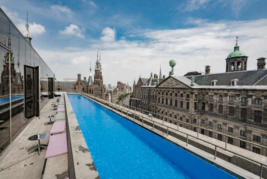 amsterdam w hotel rooftop